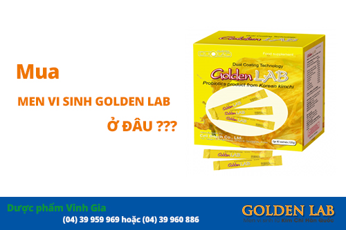 Mua Men vi sinh Golden Lab ở đâu?