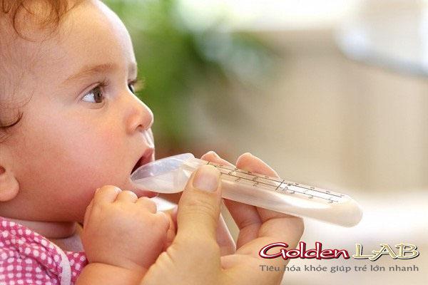 Men vi sinh liều thuốc cho trẻ bị tiêu chảy