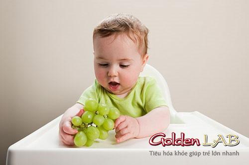 Hoa quả tốt cho trẻ bị táo bón