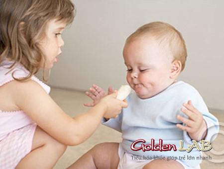 Tăng cường miễn dịch đường tiêu hóa cho trẻ